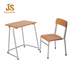 simple school desk and chair